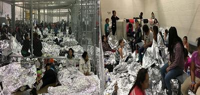 Overcrowding of families observed by Department of Homeland Security Office of Inspector General on June 11, 2019, at Border Patrol\'s McAllen, Texas Centralized Processing Center.