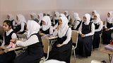 أبناء الانبار العراقية يعودون الى المدارس بعد غياب طويل