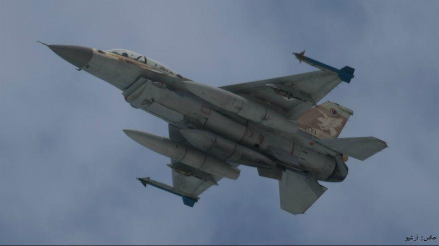 پاسخ موشکی سوریه به حمله جنگنده اسرائیلی