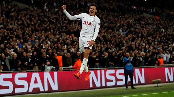 Tottenham im Achtelfinale - ManCity ebenso weiter