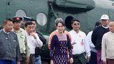 """زعيمة ميانمار تنصح مسلمي الروهينغا """"بعدم الشجار"""""""