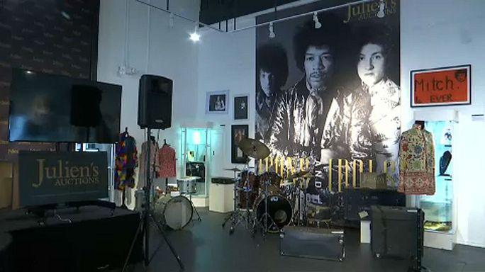 Los Angeles: all'asta i memorabilia del rock
