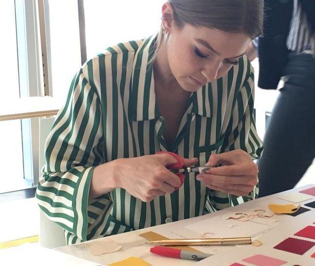 Gigi Hadid and Stuart Weitzman collaborate on two new shoe designs
