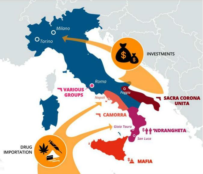 Mapping the mafia: Italy\'s web of criminal gangs explained | Euronews