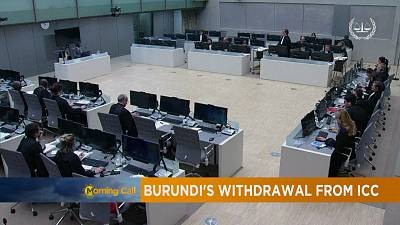 Burundi's withdrawal from ICC [The Morning Call]