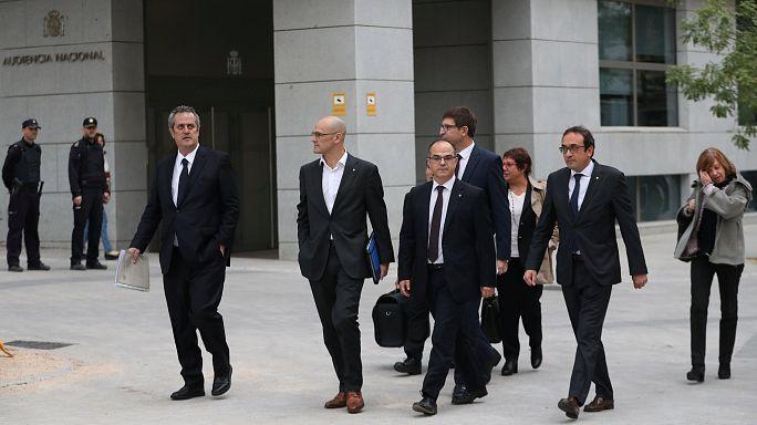 Katalanische Politiker müssen in U-Haft