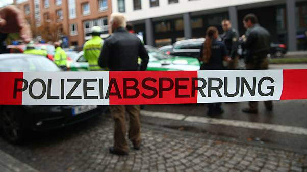 German police hunt gunman after supermarket shooting