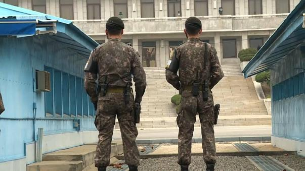 Secretário-geral da NATO visita zona desmilitarizada coreana