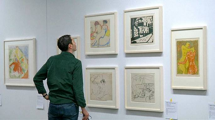 Hidden treasures of Nazi art dealer go on display