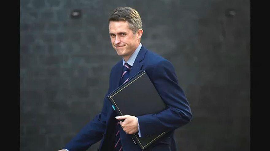 Kinevezték az új brit védelmi minisztert