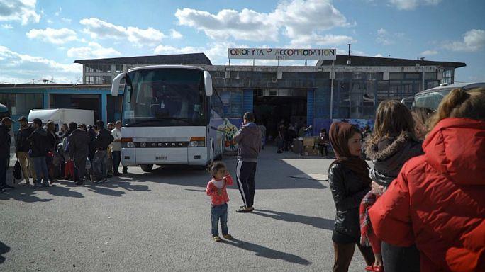 Grecia cierra las puertas del campo de refugiados de Oinofyta