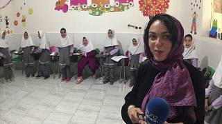 Video Blog: Inside an Iranian school for Afghan refugees