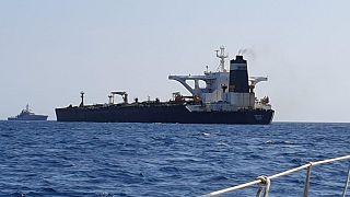 Image: Grace 1 super tanker