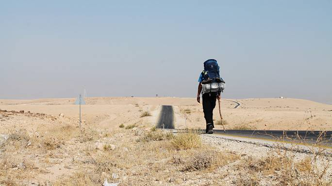 The man who walked more than 3,000 km in solidarity with refugees