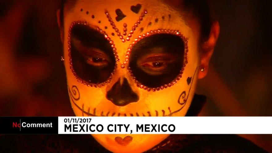 """México celebra o """"dia dos mortos"""""""