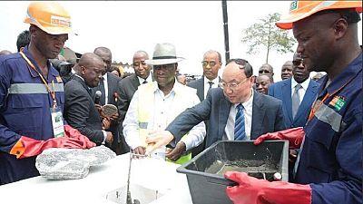 Côte d'Ivoire : inauguration de l'énorme barrage hydroélectrique de Soubré