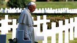 Papa Francis: 'Bizi affet Tanrım'