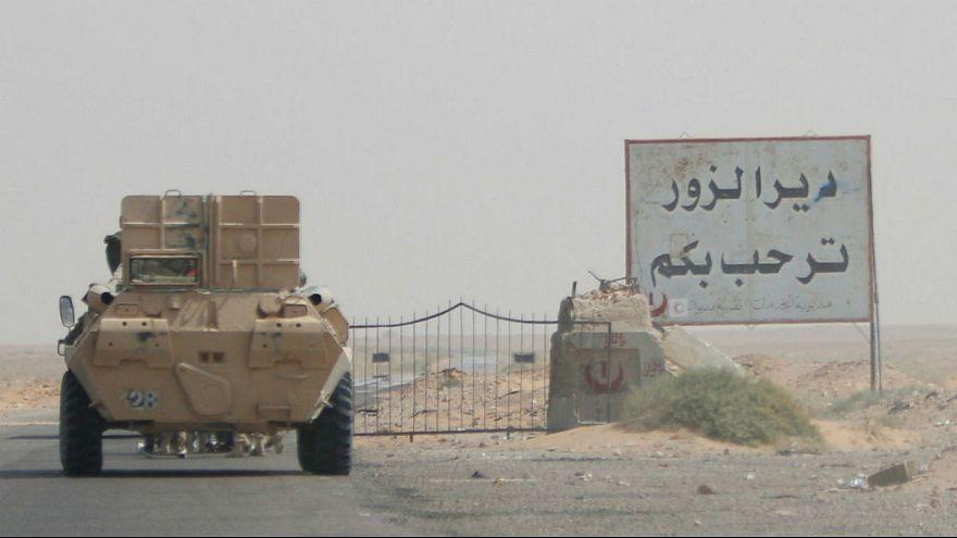 شهر دیرالزور سوریه از کنترل داعش خارج شد