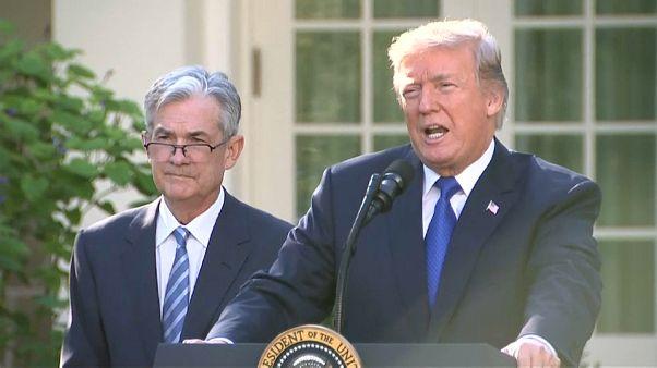 Trump elige a Jerome Powell presidente de la FED