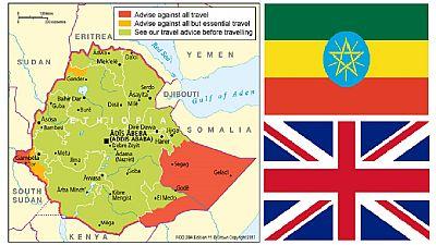 U.K. updates Ethiopia travel advice citing business visa processes