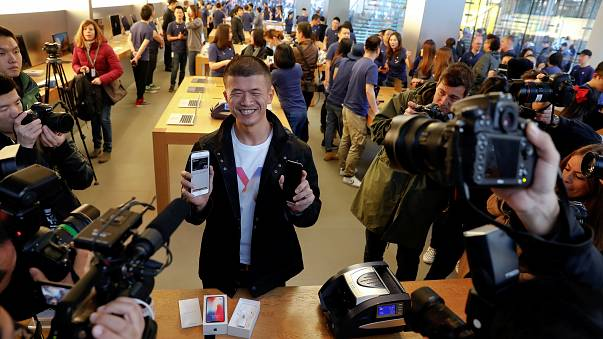 Apple frenzy back around the world for iPhone X
