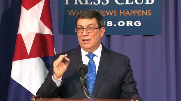 """Cuba dice que EEUU """"miente deliberadamente"""" sobre los ataques acústicos"""