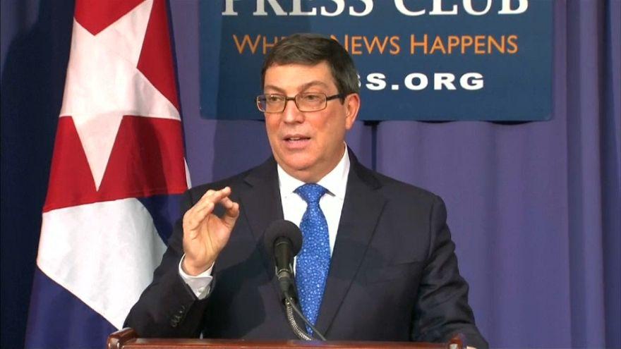 Cuba acusa EUA de mentirem