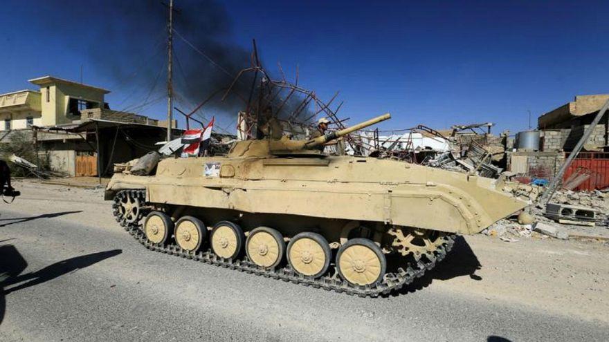 القوات العراقية تشرع في تحرير أخر أراض خاضعة لداعش في البلاد