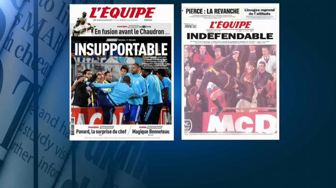Skandal bei Olympique Marseille: Verteidiger Evra tritt gegen Fan