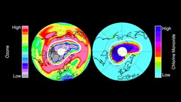 1988 óta nem volt ilyen kicsi az ózonlyuk