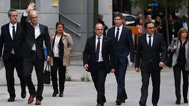 ¿Quiénes son los nueve miembros del Govern enviados a prisión?