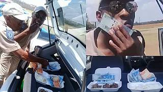 'Money-eating' traffic officers in South Africa suspended after viral video