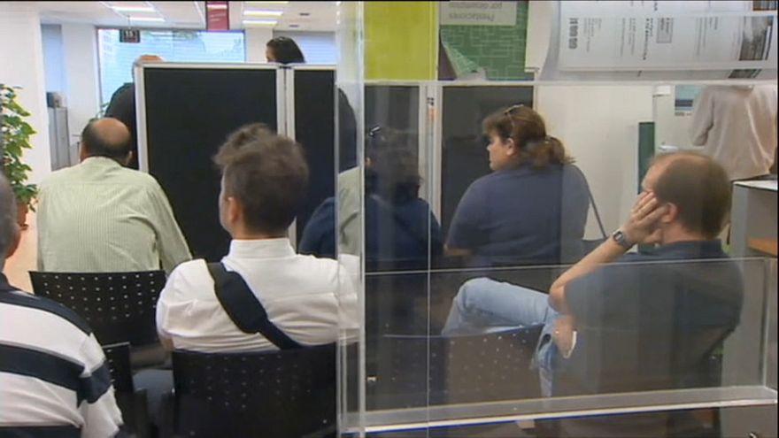 El paro sube en Cataluña más del doble que la media nacional