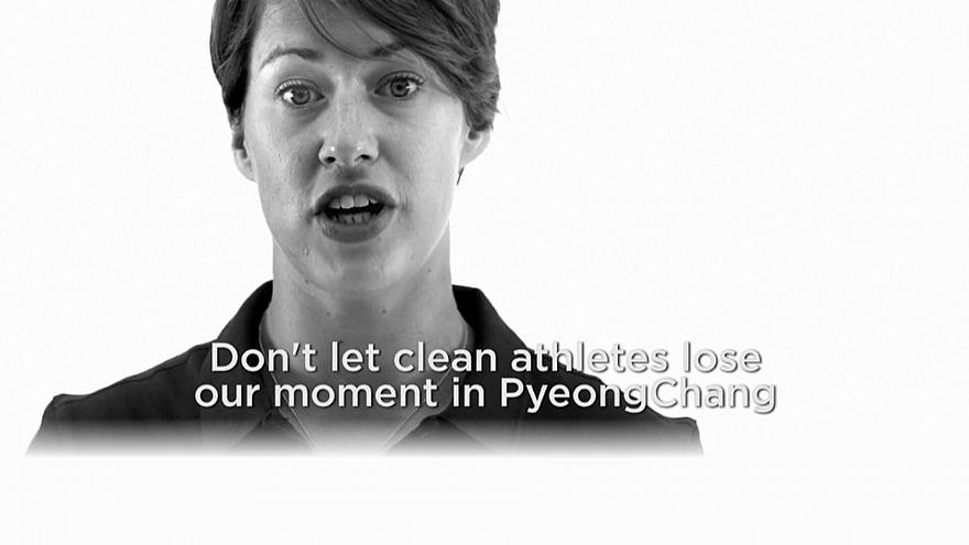 2018 Winter Olympic athletes launch anti-doping campaign #MyMoment