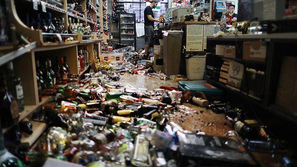 Image: Southern California earthquake