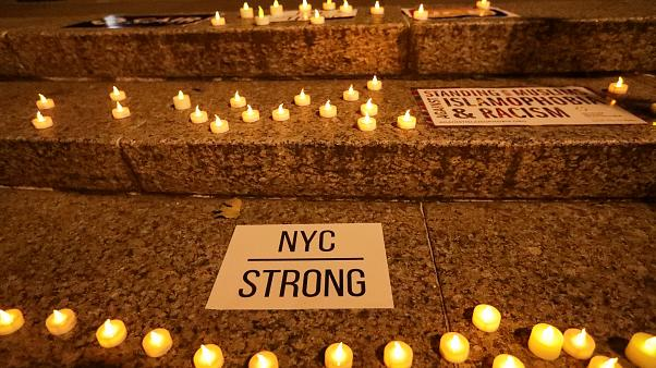 Victims of the New York truck attack remembered at vigil