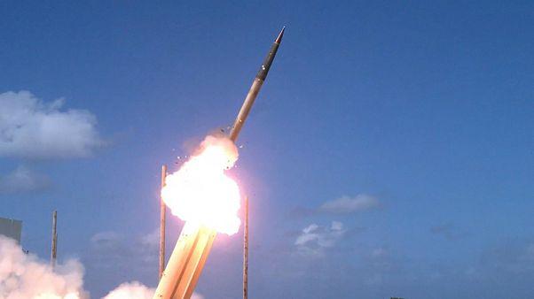 رزمایش موشکی کره جنوبی در آستانه سفر ترامپ برگزار شد