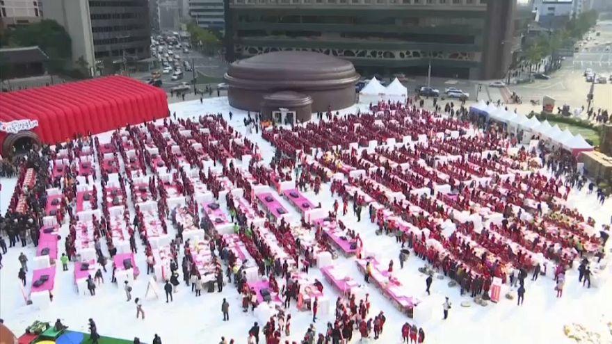 4. Geleneksel Kimçi Festivali Güney Kore'de kutlandı