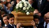 Eltemették a meggyilkolt máltai újságírónőt