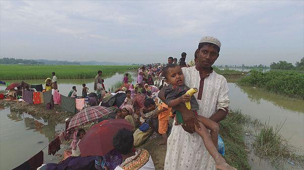 Con los refugiados rohinyás sobre el terreno