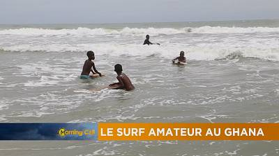 Surfing on the beaches of Ghana [The Morning Call]