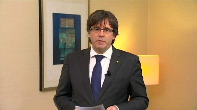 Orden de arresto internacional contra Puigdemont y los cuatro exconsellers que el acompañan en Bruselas