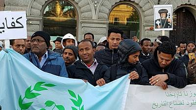 Eritreans abroad protest against regime after Asmara 'chaos'