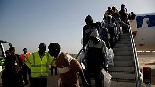 Over 160 Gambian migrants voluntarily return home from Libya