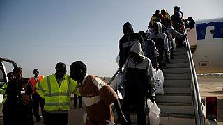 Over 160 Gambian migrants voluntarily return home from Libya