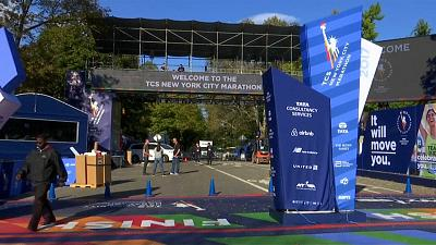 Tight security for New York Marathon after truck attack