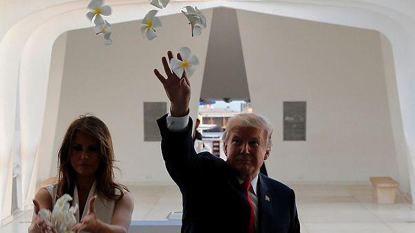 """Donald Trump passa 12 dias """"ao largo"""" da Coreia do Norte"""