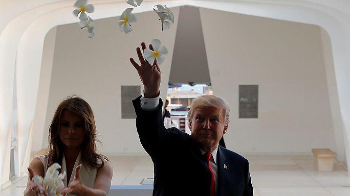 Дональд Трамп отправляется в азиатское турне