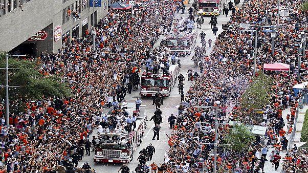 Γιορτή του μπέιζμπολ στο Χιούστον για το πρωτάθλημα των Άστρος