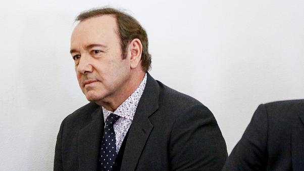 Image: Actor Kevin Spacey attends his arraignment for sexual assault charge